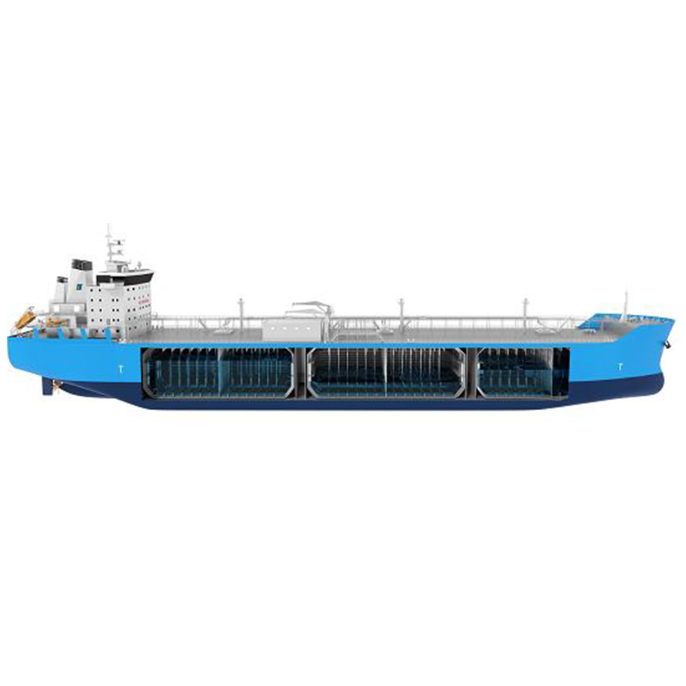 Pengrui Offshore have secured a contract for supply Ampo Poyam brand cryogenic ball valve for Saga LNG Shipping 45000 cubic meter  LNG  Carrier build in CMHI Jiangsu.